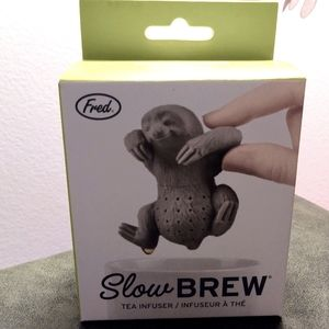 NWT Fred Sloth Slow Brew Silicone Tea Infuser